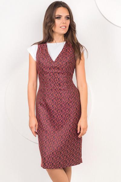 Платье-сарафан на подкладе П-482/1